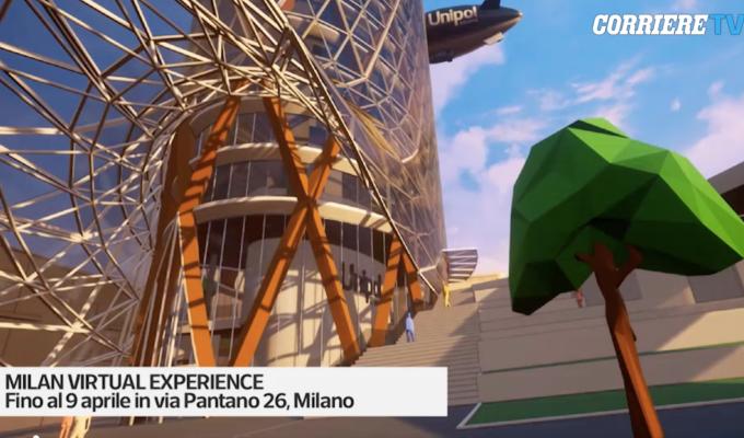 VIAGGIO VIRTUALE NELLA MILANO DEL FUTURO: AL FUORISALONE CON URBANUP