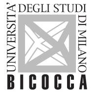 UNIVERSITA' DI MILANO-BICOCCA